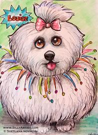 event dog pet cartoon artist austin